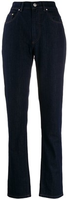 Katharine Hamnett high rise tapered jeans