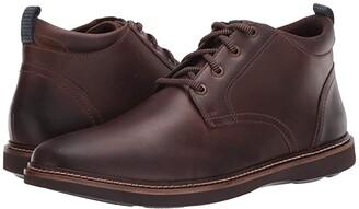 Nunn Bush Ridgetop Plain Toe Chukka (Brown CH) Men's Shoes