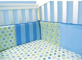 Trend Lab Dr. Seuss Oh The Places You'll Go! Blue Crib Bumper by