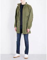 Sandro Fishtail Hooded Coat