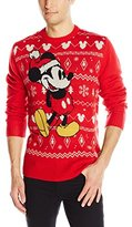 Disney Men's Mickey Mouse Ugly Christmas Sweater