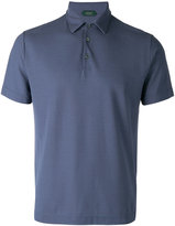 Zanone collared polo top