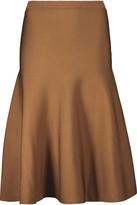 Cushnie et Ochs Pleated stretch-knit skirt