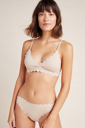 Floreat Scalloped Bikini By Floreat in White Size XS