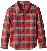 Volcom Hewitt Flannel Long Sleeve Shirt (Toddler/Little Kids)