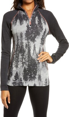 Smartwool Base Layer Quarter Zip Pullover