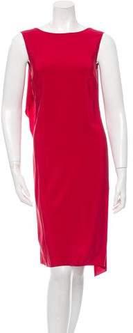 Agnona Silk Draped Dress w/ Tags
