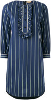Fay striped shirt dress - women - Cotton/Polyamide/Spandex/Elastane - S