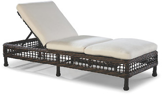 Lane Venture Moraya Bay Chaise - Brown/Natural Sunbrella