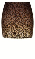 City Chic Leopard Lover Skirt