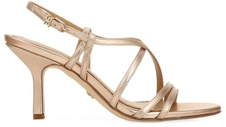 Sam Edelman Paislee Metallic Leather Slingback Sandals