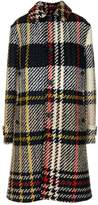 Lanvin Check Pattern Coat