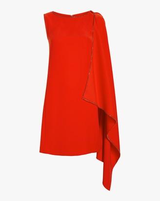 McQ Sleeveless Cascade Dress