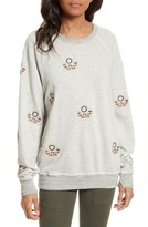 The Great Women's The College Embroidered Sweatshirt
