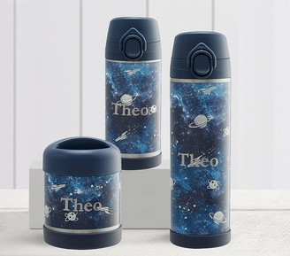 Pottery Barn Kids Mackenzie Navy Galaxy Glow-in-the-Dark Hot Cold Container