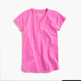 J.Crew Girls' supersoft V-neck T-shirt