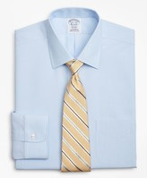 Brooks Brothers Regent Fitted Dress Shirt, Non-Iron Herringbone