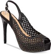 Thalia Sodi Cace Slingback Peep-Toe Pumps, Only at Macy's