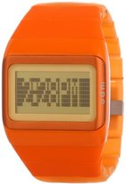 o.d.m. Unisex SDD99B-6 Link Series Orange Programmable Digital Watch