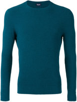 Drumohr crew neck top - men - Cotton/Polyamide - 46