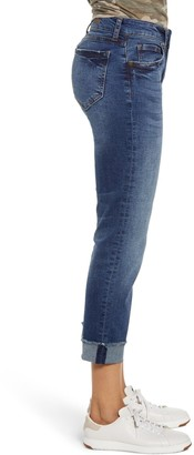 KUT from the Kloth Amy Frayed Crop Straight Leg Jeans