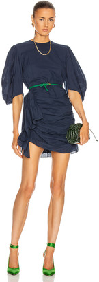 Rhode Resort Pia Dress in Navy | FWRD