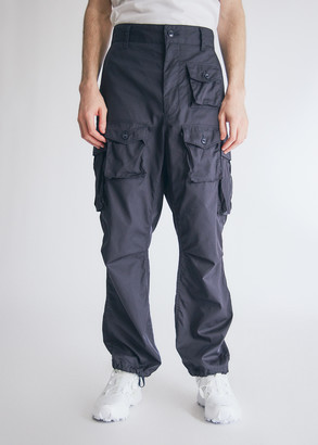 Engineered Garments Men's FA Pant in Dark Navy, Size Extra Large | 100% Cotton
