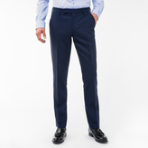 Paul Smith A Suit To Travel In - Men's Tailored-Fit Navy Loro Piana Wool Trousers
