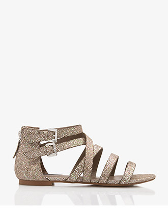 Forever 21 Holographic Stingray Sandals