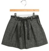 Bonpoint Girls' Metallic Knit Skirt
