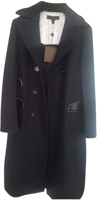 Louis Vuitton Navy Wool Coats