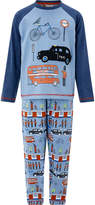 Monsoon Boy Luca London Jersey PJ Set