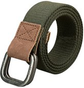 Sitong Retro casual double loop buckle canvas belt