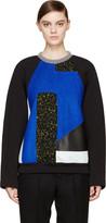 Proenza Schouler Black Panelled Pullover
