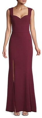 Dress the Population Monroe Slit Gown