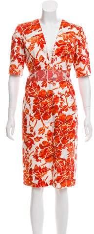 Altuzarra Floral Midi Dress w/ Tags