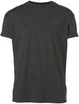 Topman GREY TWIN MARL OVERSIZE T-Shirt