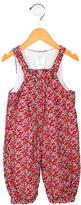 Jacadi Girls' Floral Print All-In-One