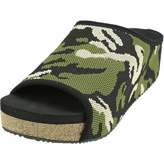 Volatile Women's ZEBRASKY Slide Sandal CAMO 7 Medium US