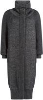 Vionnet Long Mohair Coat