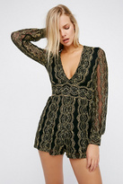 Nightcap Clothing Womens COMBI CUT OUT ROMPER