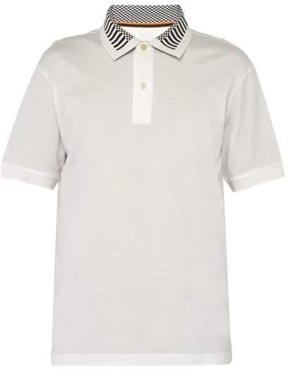 9c8045e39 Striped Polo Shirts No Collar - ShopStyle