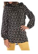 Altea Women's Black Silk Blouse.