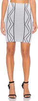 BCBGeneration Geometric Mini Skirt