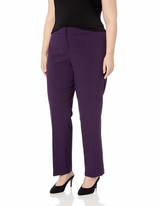 Nine West Women's Size Plus Stretch Trouser Pant