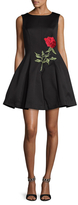 Alexia Admor Embellished Fit-and-Flare Dress