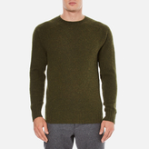 Ymc Suedehead Brushed Jumper Loden