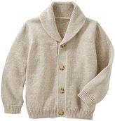 Osh Kosh Toddler Boy Marled Shawl-Collar Cardigan Sweater