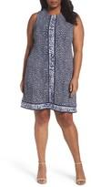 MICHAEL Michael Kors Plus Size Women's Animal Print Sheath Dress