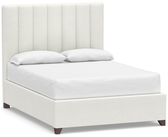 Pottery Barn Kira Channel Tufted Upholstered Bed